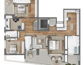Duplex 189m² (Inferior)