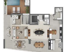 Duplex 189m² (superior)