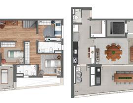 Duplex 266m²