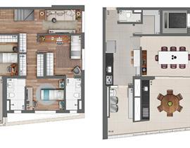 Duplex 318m²