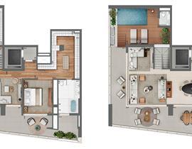 Duplex 377m²