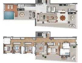 Duplex 445m²